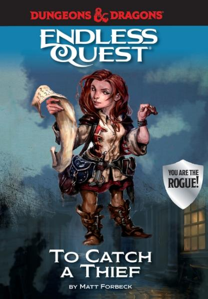 D&D An Endless Quest Adventure - To Catch a Thief (HC)