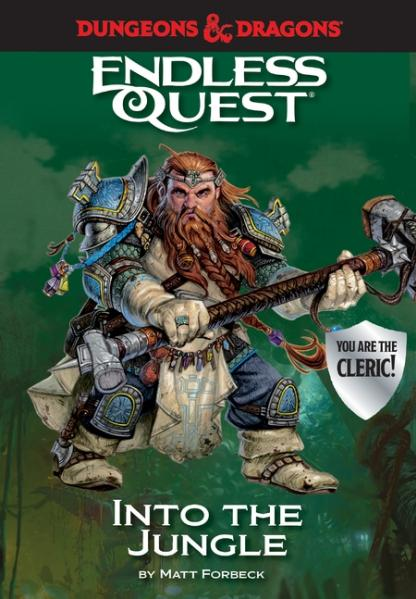 D&D An Endless Quest Adventure - Into the Jungle (HC)