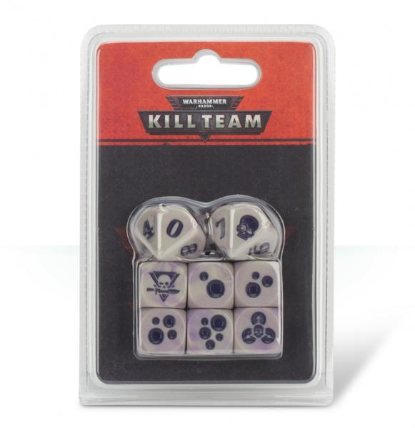 Warhammer 40K: Kill Team Gellerpox Infected Dice