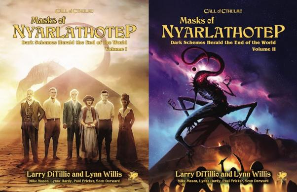 Call of Cthulhu RPG: Masks of Nyarlathotep Slipcase Set