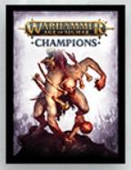 Warhammer Age of Sigmar: Champions TCG Sleeves - Death (50)