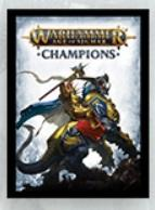 Warhammer Age of Sigmar: Champions TCG Sleeves - Order (50)