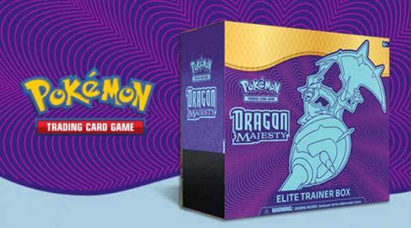Pokemon CCG: Dragon Majesty Elite Trainer Box