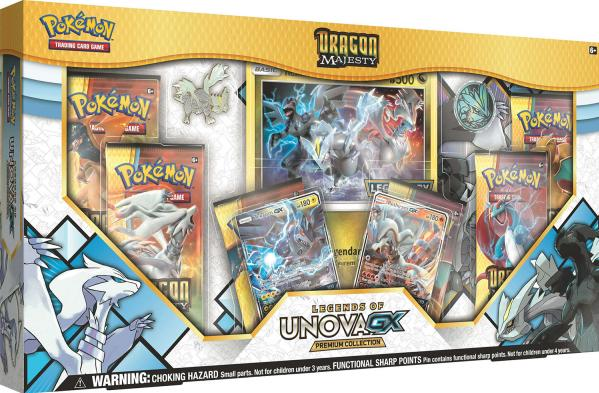 Pokemon CCG: Dragon Majesty Legends of Unova GX Premium Collection