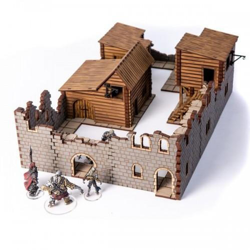 28mm Fabled Realms: Broggenbridge Town