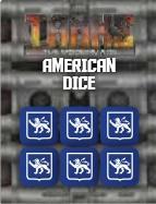 TANKS The Modern Age: American Dice Set