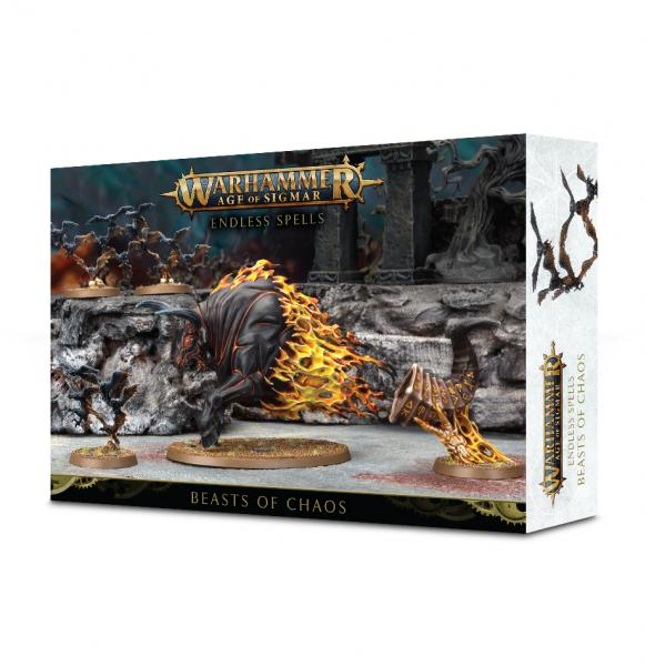 Age of Sigmar: Beasts of Chaos - Endless Spells