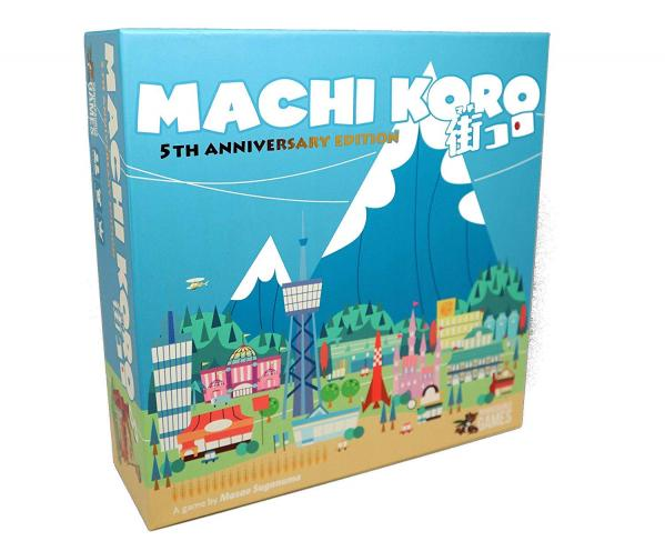 Machi Koro 5th Anniversary Edition: Core Game
