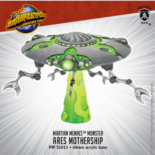 Monsterpocalypse: Ares Mothership - Martian Menace Monster (metal/resin)