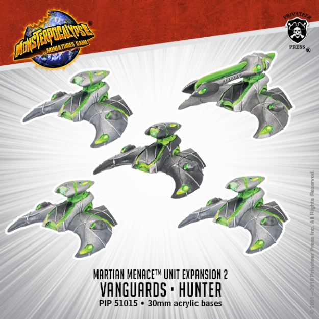 Monsterpocalypse: Vanguard & Hunter - Martian Menace Units (resin)