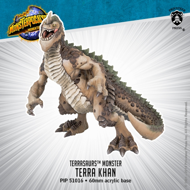 Monsterpocalypse: Terra Khan - Terrasaur Monster (resin)