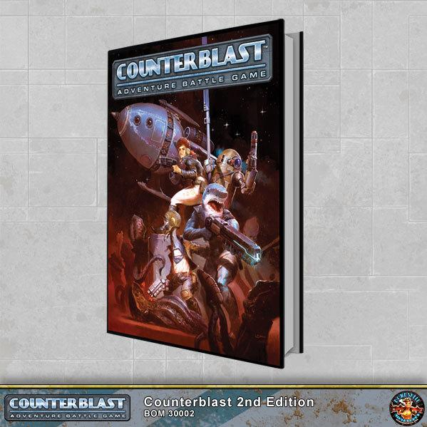 Counterblast: Core Rulebook (2nd Edition)