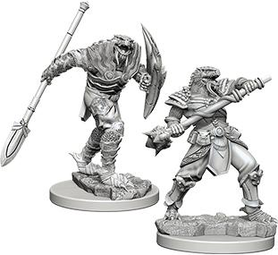 D&D Nolzurs Marvelous Unpainted Minis: Dragonborn Fighter with Spear