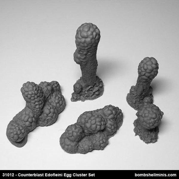 Counterblast: Edofleini Egg Clusters set
