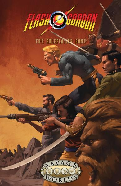 Savage Worlds RPG: Flash Gordon (SC)