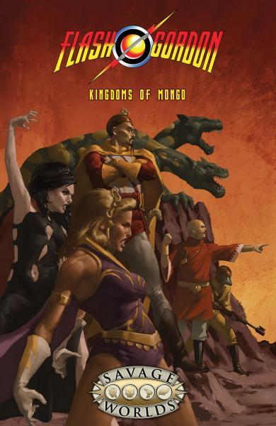 Savage Worlds RPG: Flash Gordon - Kingdoms of Mongo Limited Edition Hardcover (HC)