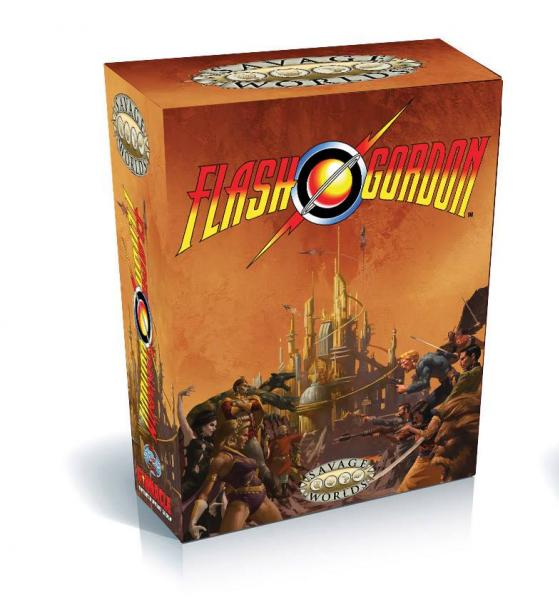 Savage Worlds RPG: Flash Gordon Box Set