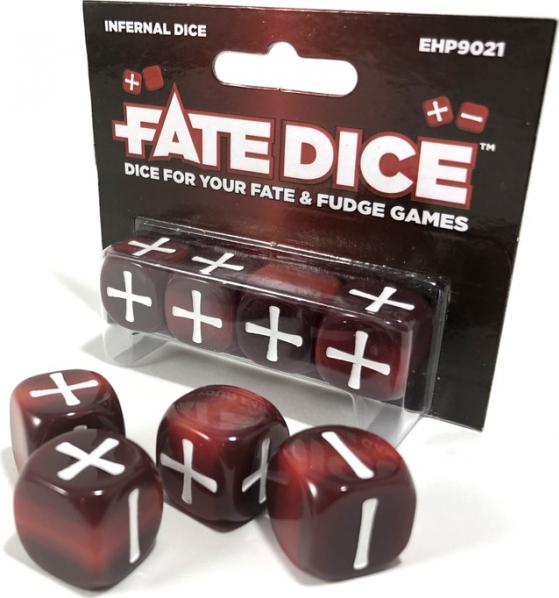 Fate Dice: Infernal (4)