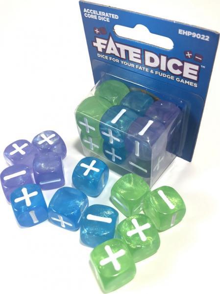 Fate Dice: Accelerated Core (12)