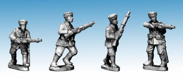 Crusader Miniatures: Cossacks with Rifles (German Service) (4)