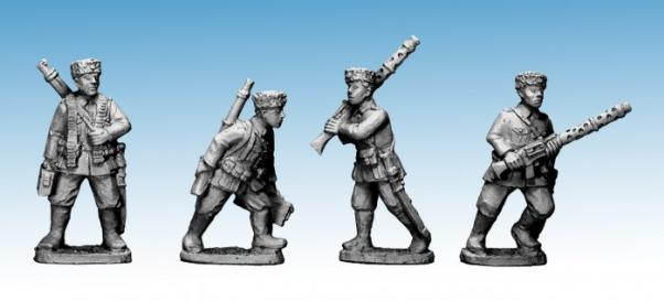 Crusader Miniatures: Cossack LMG Teams (German Service) (4)