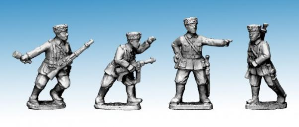 Crusader Miniatures: Cossack Command (German Service) (4)