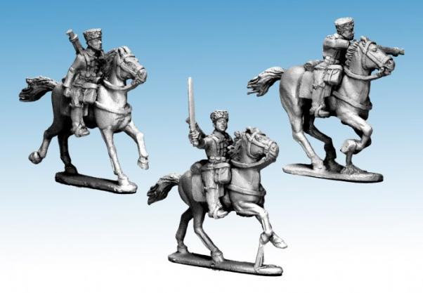 Crusader Miniatures: Mounted Cossacks (German Service) (3)