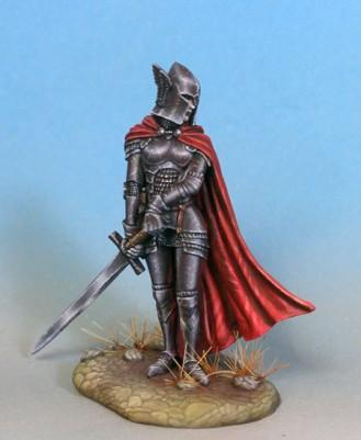 Visions In Fantasy: Female Paladin with Great Sword