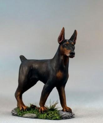 Visions In Fantasy: Doberman Pinscher Dog