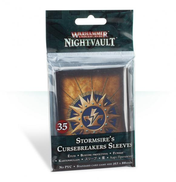 Warhammer Underworlds: Stormsires Cursebreakers Sleeves
