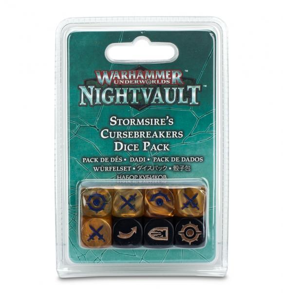 Warhammer Underworlds: Stormsire's Cursebreakers Dice Pack