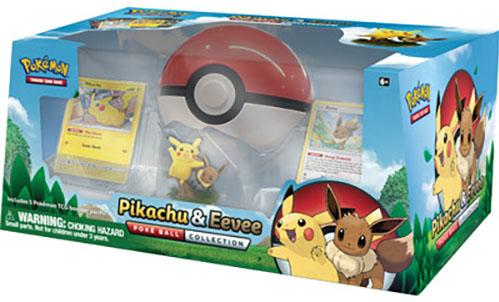 Pokemon CCG: Pikachu & Eevee Poké Ball Collection