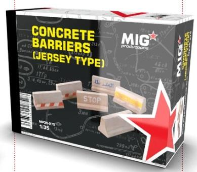 MIG Productions: Concrete Barriers  (Jersey Type)