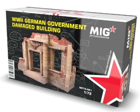 MIG Productions: German Damaged Building