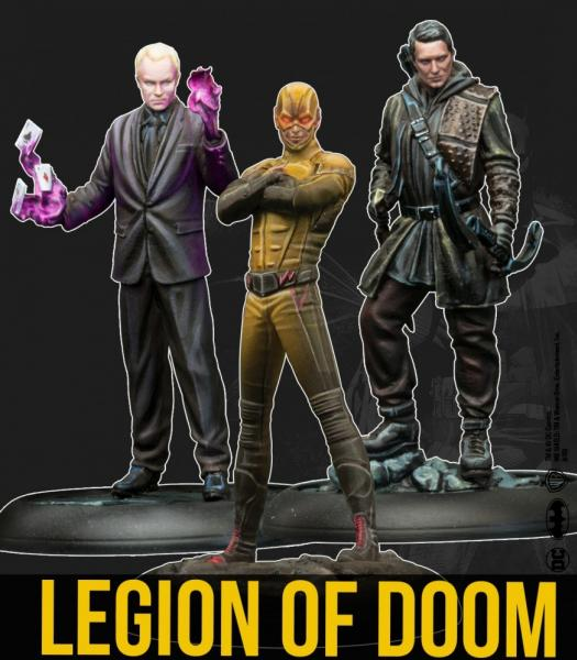 Batman Miniature Game: Legion Of Doom (Tv Show) (Resin)