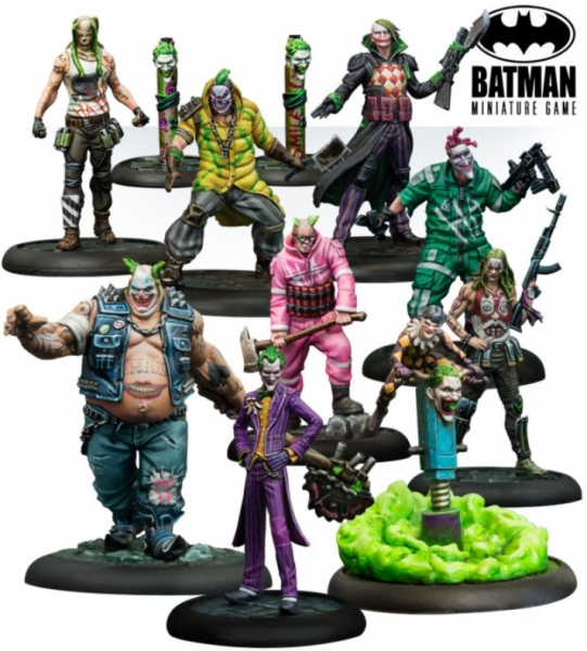 Batman Miniature Game: The Joker - Clowns Party Bat Box Set