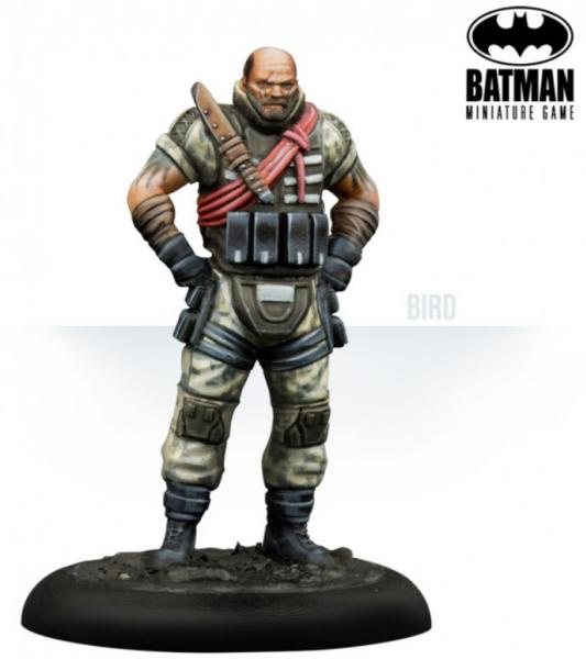 Batman Miniature Game: Bird & Mercs (Resin)