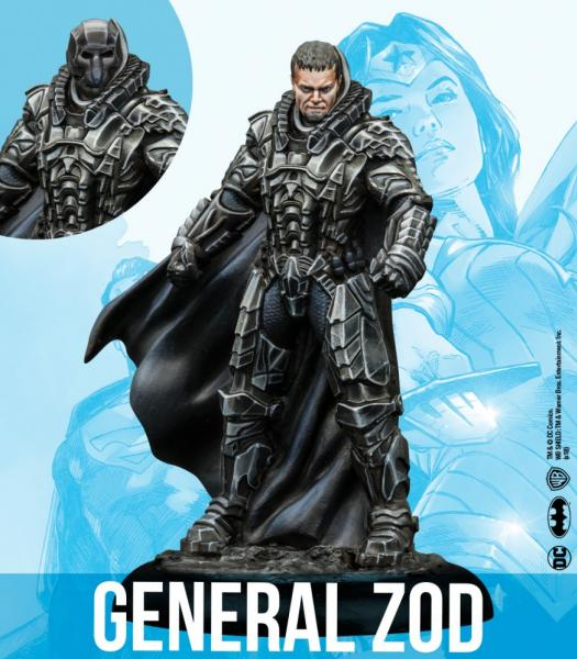 Knight Models DC Universe: General Zod & Guild Warriors (Resin)