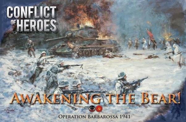 Conflict Of Heroes: Awakening the Bear! - Operation Barbarossa