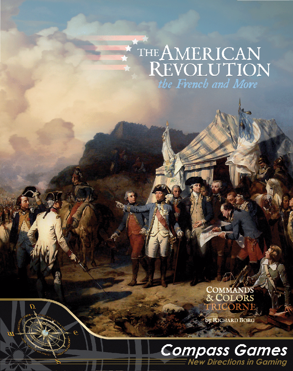 Commands & Colors: Tricorne Expansion – The American Revolution War Expansion Kit 1