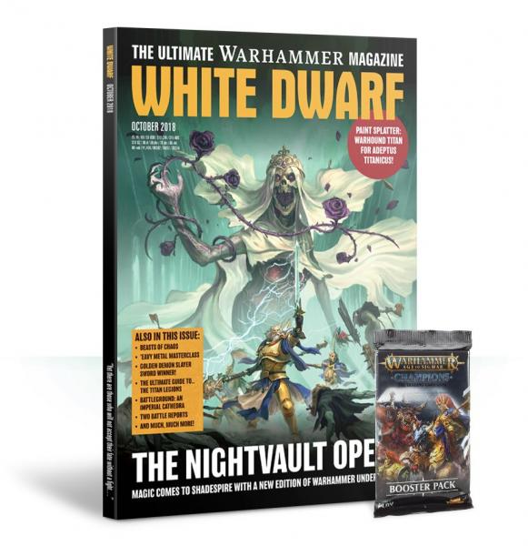 White Dwarf Magazine [OCT 2018]