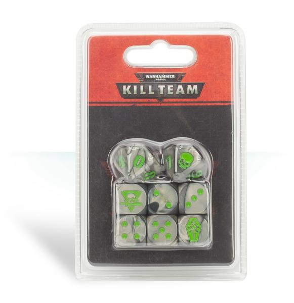 Warhammer 40K: Kill Team Necrons Dice