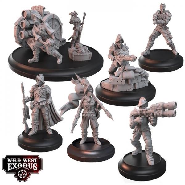 Wild West Exodus: The Conquistadores Posse Box Set