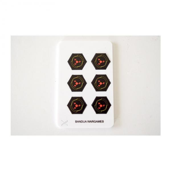 Game Accessories: Ion tokens (6) (full color)