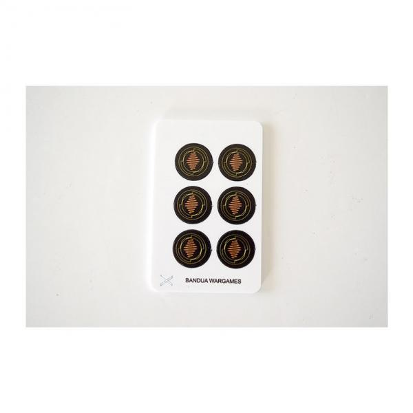 Game Accessories: Interference tokens (6) (full color)
