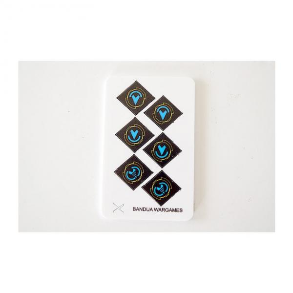 Game Accessories: Concealed and Reinforcement tokens (6) (full color)