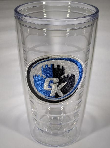 Game Kastle Tumbler Glass Cup (16oz)