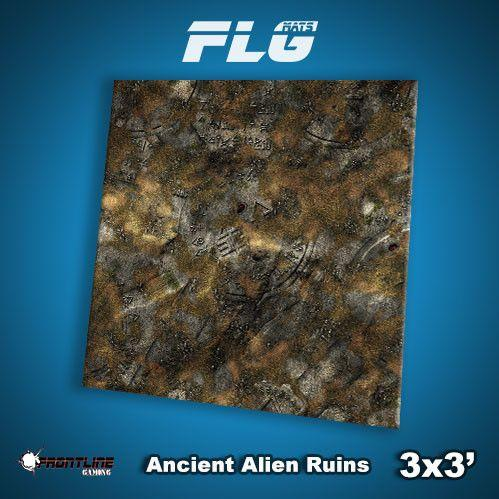 Frontline Gaming Mats: Ancient Alien Ruins 3x3'