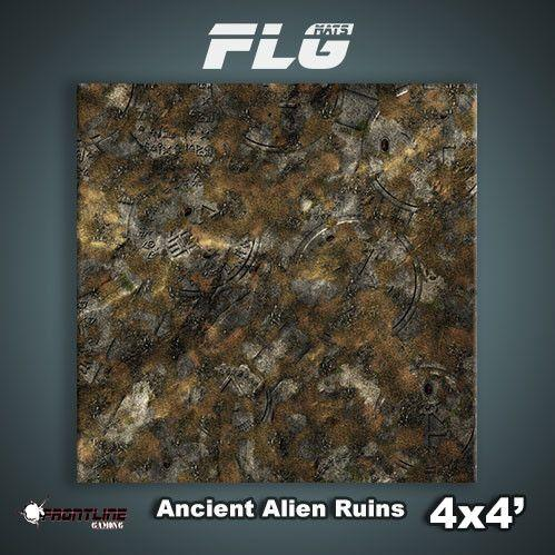 Frontline Gaming Mats: Ancient Alien Ruins 4x4'