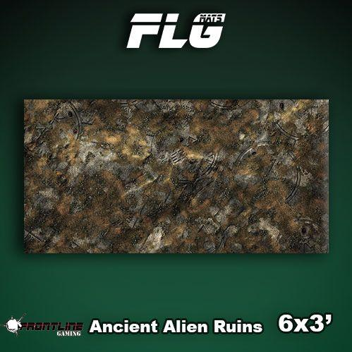 Frontline Gaming Mats: Ancient Alien Ruins 3x6'